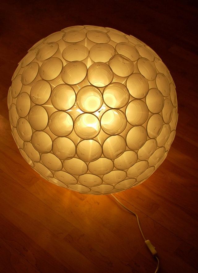 Plastic lamp