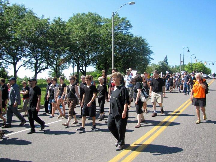 VT tar sands march