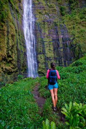 Hawaii hike