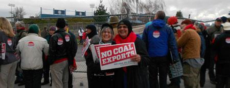 Coal export hearing2