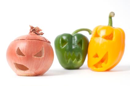 Jack O' Lantern Vegetables