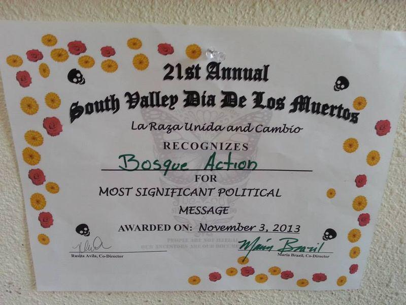 Albuquerque award