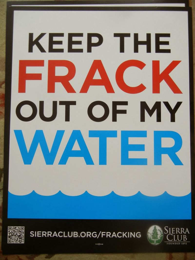 Keep the Frack out of my Water