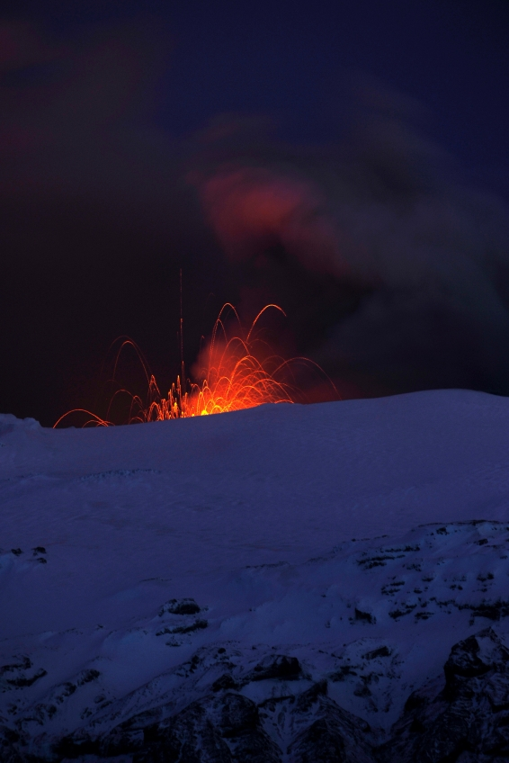 There's a volcano inside Eyjafjallajokull Glaier
