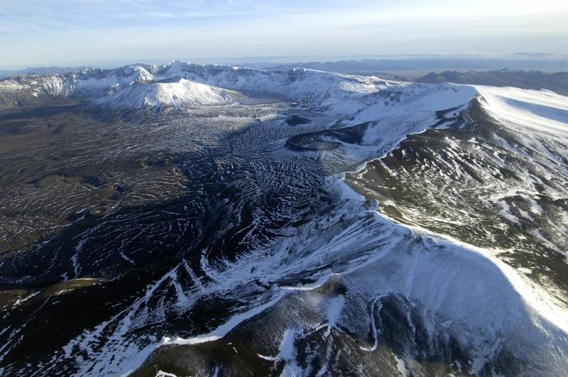 Aniakchak Caldera in Aniakchak National Monument and Park