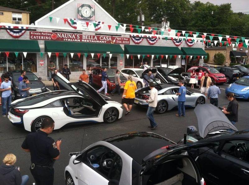 Lots of cars on display Montclair