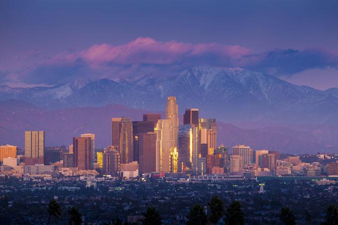 San-Gabriels-&-LA-skyline