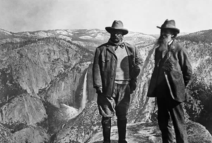 Teddy Roosevelt & John Muir